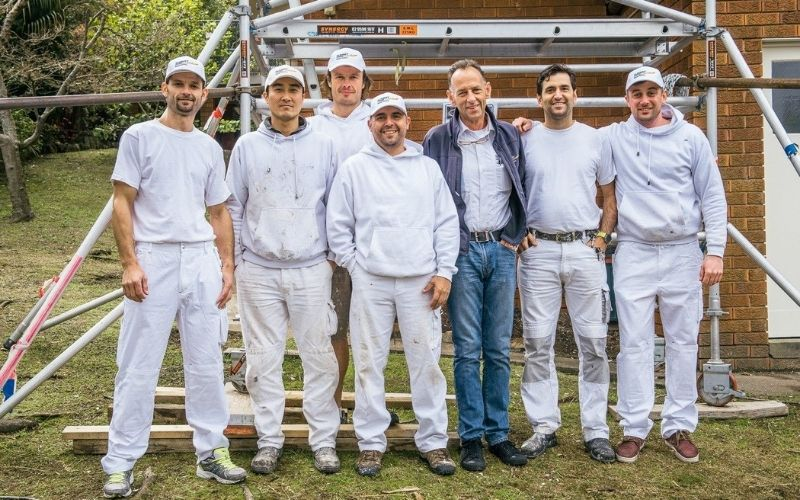 master painter association new south wales australia team at summit coatings