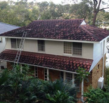 Best roof painters Sydney before picture with Summit Coatings