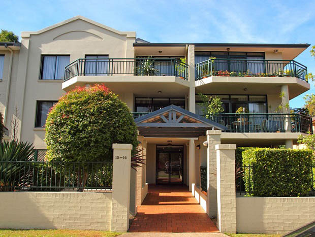 strata painting in hornsby sydney with summit coatings