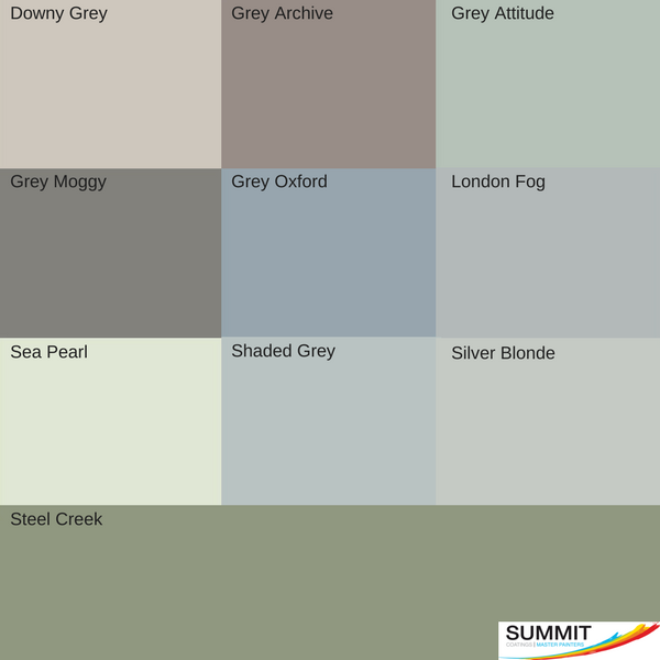 Top picks for exterior colours from house painters in North Shore Summit Coatings