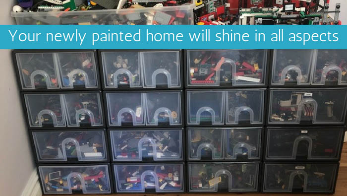 Your newly painted home will shine in all aspects