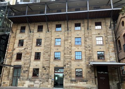 Restoration of Millers Point Heritage Building