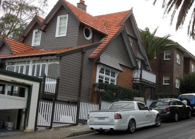 Exterior residential painting, Mosman
