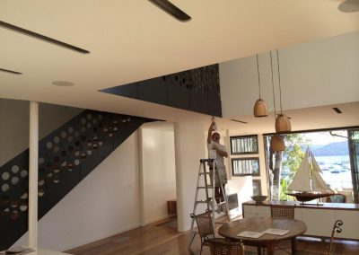 Finalist for the MPA Timber Finishes and Interior Painting award in 2014, Clareville