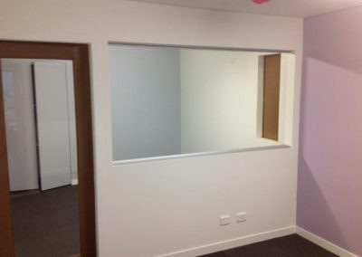 Office interior painting, Warriewood