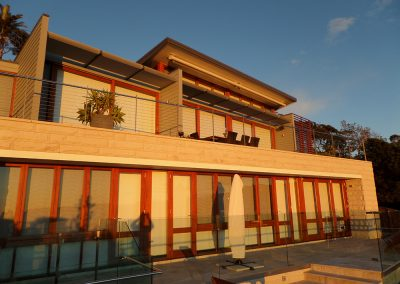 Finalist for the MPA Domestic Repaint and TImber Finish award in 2014, Whale Beach