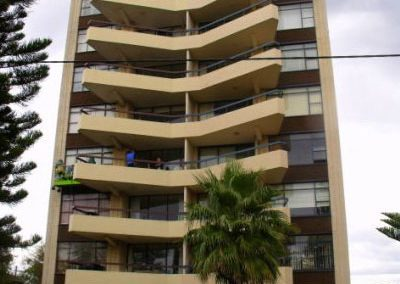 Painting and decorating of Malvern Towers, Manly