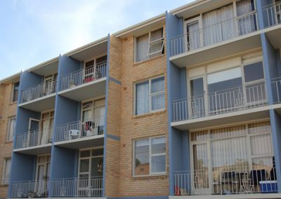 Painting and decorating of strata unit block, Dee Why