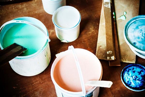DIY home décor ideas with house paint