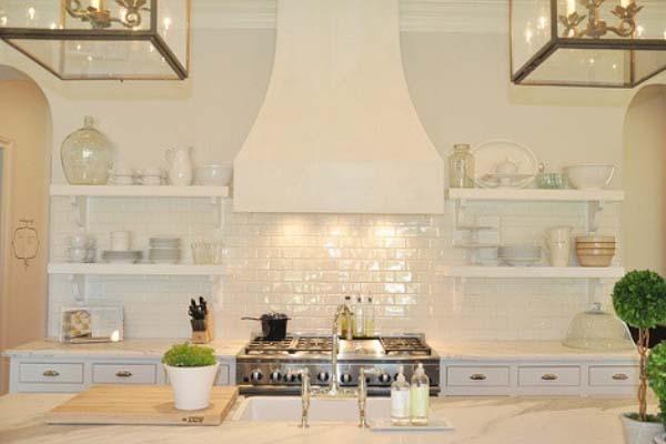 Kitchen renovation ideas open shelving ideas from Summit Coatings