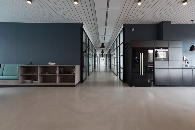 strata complex interior painting with summit coatings north shore